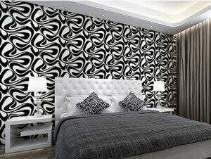 Papel pintado de Arte Abstracto 3d estereoscópico televisión vídeo Pared papel tapiz geométrico