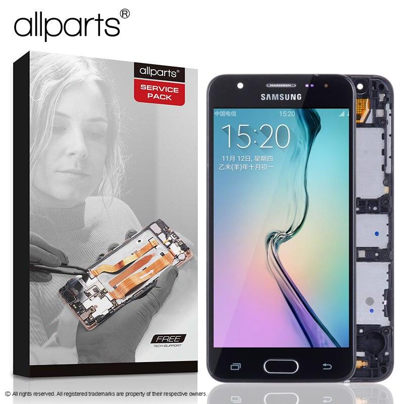 2 gb di RAM 5.0 ''Display Originale per SAMSUNG J5 Prime LCD Touch Screen con Telaio per SAMSUNG Galaxy J5 prime G570F G570 SM-G570F
