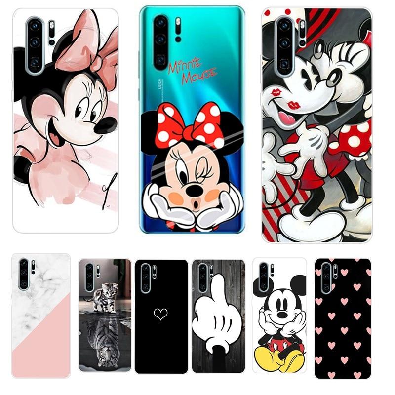 Case For Huawei P30 Pro Case Huawei P30 Lite Case Silicon TPU Soft For Funda Coque Huawei P30 Pro P 30 Lite P20 Lite Phone Case