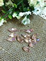 AAA Top Quality 6x12mm Teardrop Beads Crystal Glass Beads Crystal light pink AB color 100pcs/lot Free Shipping