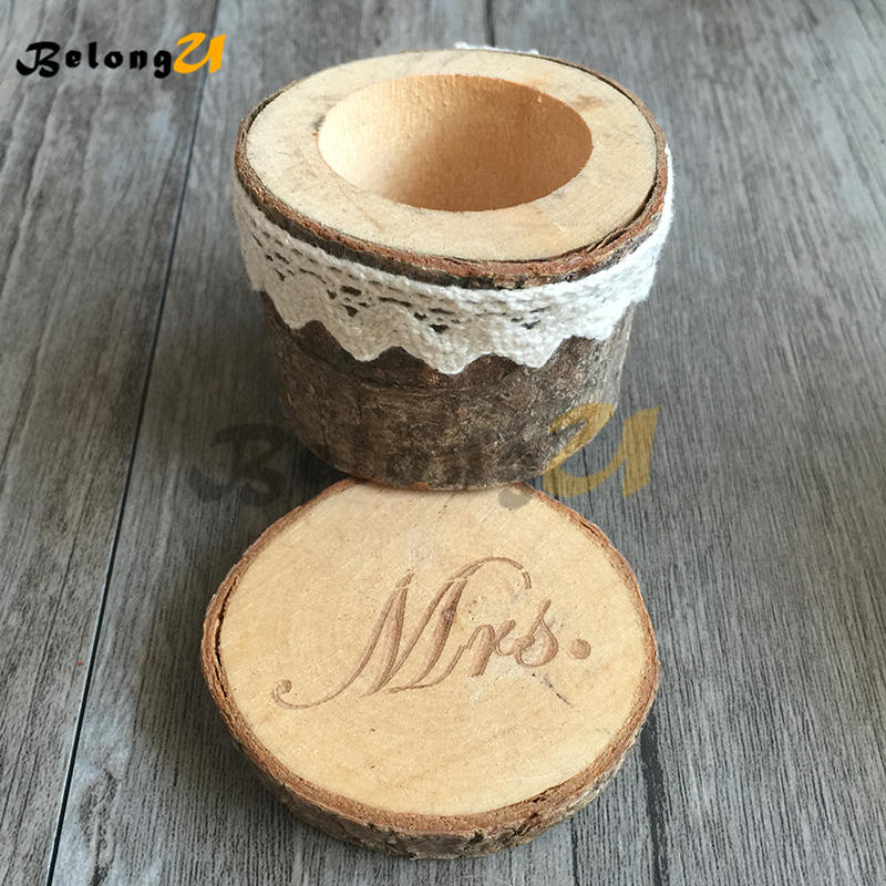 Wedding Decoration Vintage Wedding Ring Box -MUW-020-008