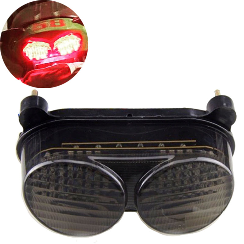 Motorcycle Led Integrated Tail Light Turn Signals