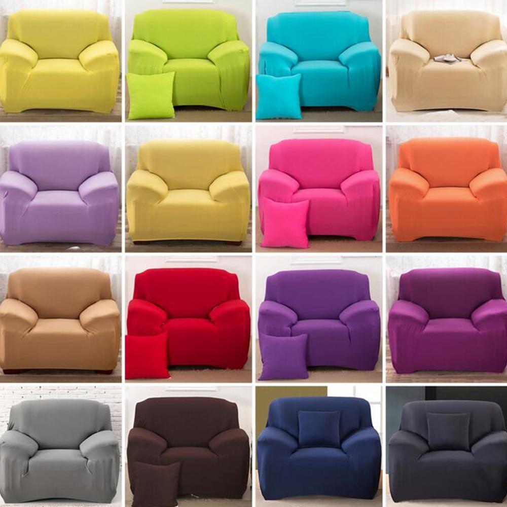 16 Colours Sofa Cover Stretch Fabric Slipcover Elastic