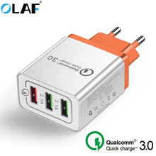 OLAF USB Charger EU 18W 5V 3A Quick Charge 3.0 Fast Mobile P
