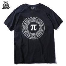 Pi Math Design Cotton T-Shirt