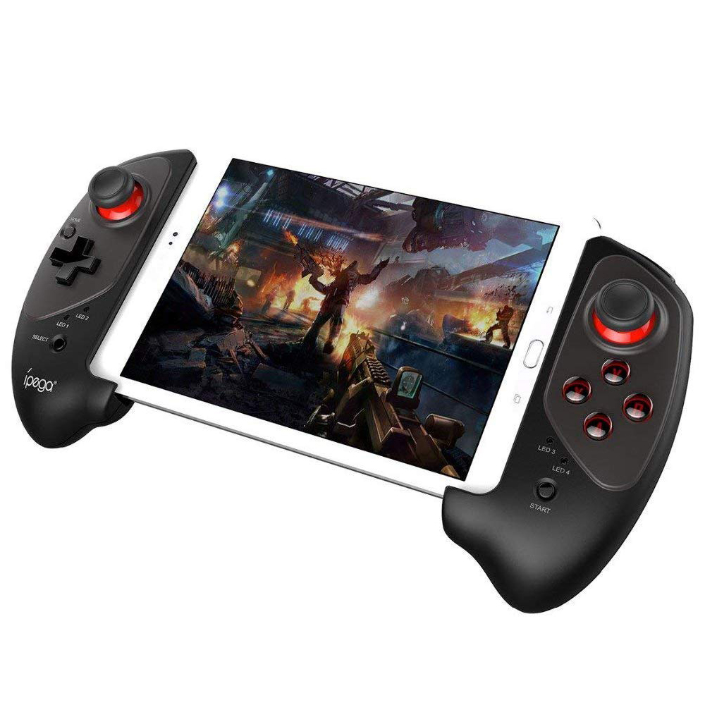 IPEGA PG-9083 Bluetooth Gamepad Wireless Telescopic Game Controller Practical Stretch Joystick Pad for Samsung GALAXYS8/S8+ S9 ipega pg 9028 practical stretch bluetooth game controller gamepad joystick with stand