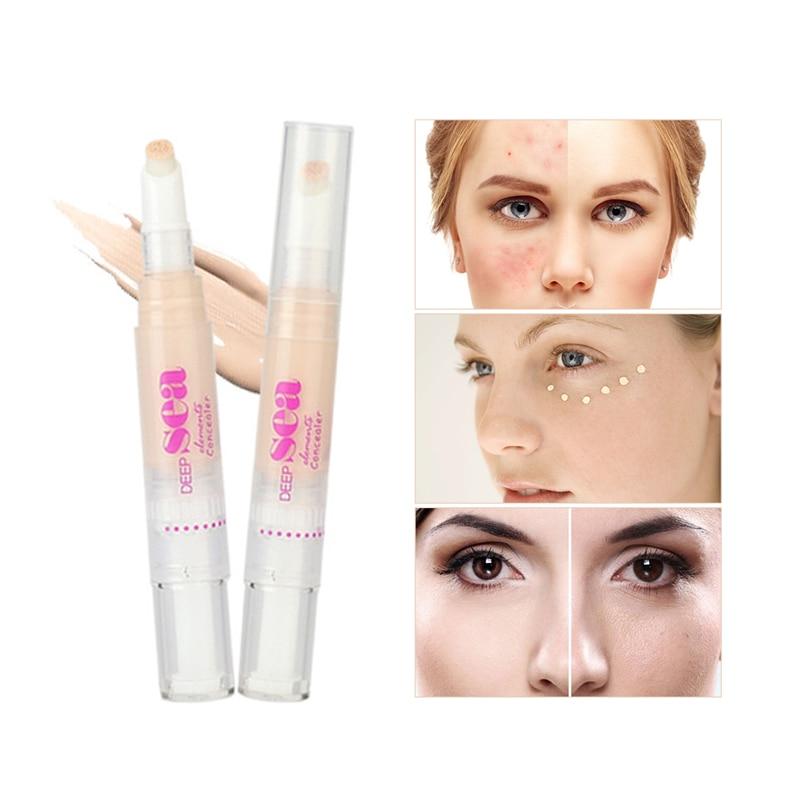 UBUB Face Makeup 3 färger Valfri Concealer Liquid Brush Bekväm Rotary Concealer Brush Professional Makeup Märke