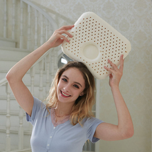 Contour Pillow for Sleeping Thailand Natural Latex Neck Pain Relief Cool Cervical Square