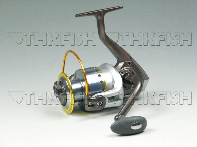 New Arrival!! 1Pcs Pack 10+1BB 5.1:1 KLG6000 Series HUIHUANG  Fishing Reels Cast Aluminium Spool Spinning reel
