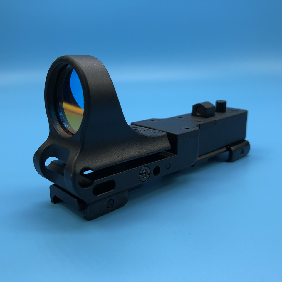 C-MORE Railway Reflex Sight Adjustment Tactical Red Dot for 20mm Rail Blue