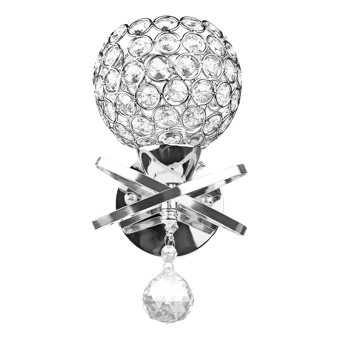 Настенный Бра кристалл настенный светильник простой и креативный теплый прикроватный настенный светильник для спальни хрустальный светильник s 1 шт
