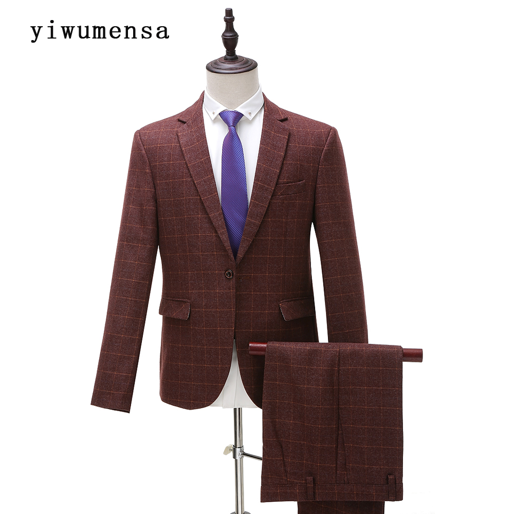 Online Get Cheap Men's Brown Blazer -Aliexpress.com | Alibaba ...
