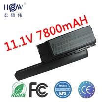 7800mah 9cells Laptop Battery For Dell Latitude D620 D630 D630c Precision M2300 ATG UMA UD088 TG226 TD175