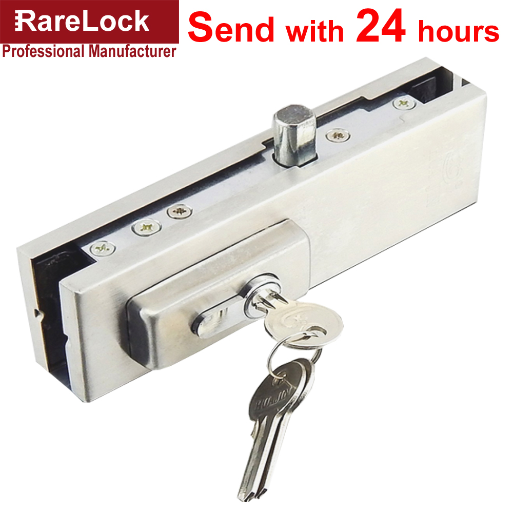 LHX AMMS107 Glass Door Lock Bolt Lock Stainless with 3 Brass keys Locks for Office Kitchen Intenior DoorLHX AMMS107 Glass Door Lock Bolt Lock Stainless with 3 Brass keys Locks for Office Kitchen Intenior Door