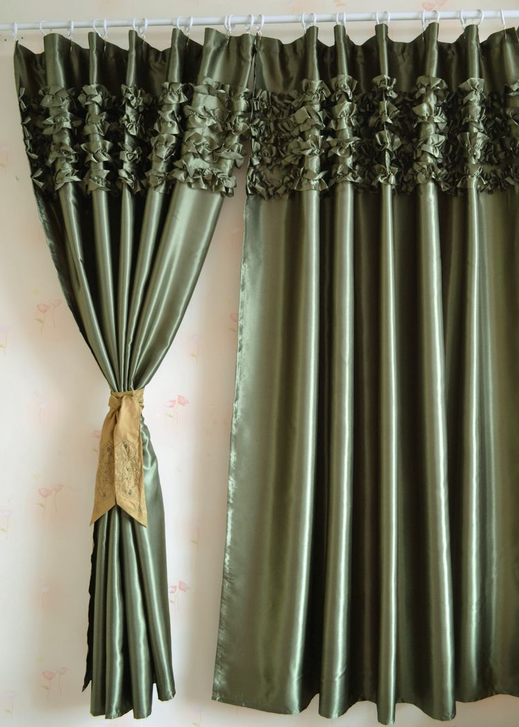 Silk Curtains For Living Room Popular Satin Curtains Buy Cheap Satin Curtains Lots From China
