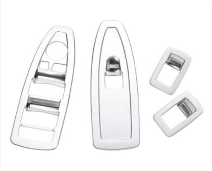 4pcs set Window Lift Switch Frame Trim For BMW X1 F48 2016 2017 ABS Chrome Accessories Car Styling Parts in Interior Door Handles from Automobiles Motorcycles