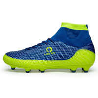 Womens Soccer Boots Anti Slip Football Trainers Mens Grass Green Artificial Turf For Football Big Size