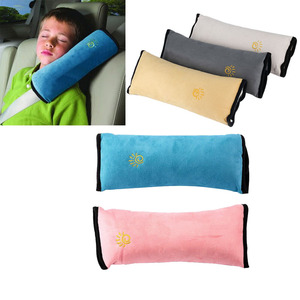 New Baby Car Auto Safety Seat Belt Harness Shoulder Pad Cover Children Protection car Covers car Cushion Support car Pillow(China)