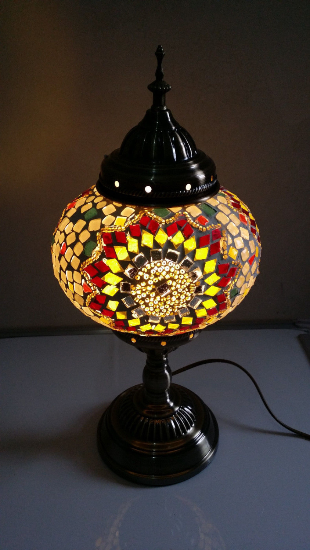 turkish style lighting. turkish moroccan style mosaic glass table lamp hand craft desk handmade lighting