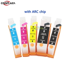 Ink-Cartridge Refill 4500x5200 PGI5 Compatible Canon Ip4200 CISSPLAZA CLI8 for Ip4300/Ip5200/500/..