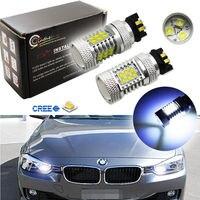 CAN-bus 8000 K 21-CR 'EE PWY24W PW24W LED Ampoules pour Audi BMW VW Clignotants ou DRL