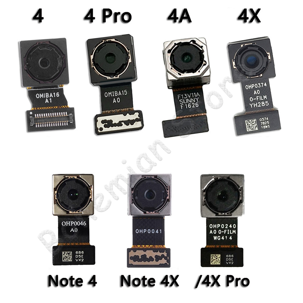 Original Main Back Camera Flex For Xiaomi Mi Redmi Note 4 4A 4X Pro Global Back Rear Camera Flex Cable