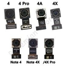 Originele Hoofd Back Camera Flex Voor Xiaomi Mi Redmi Opmerking 4 4A 4X Pro Global Back Rear Camera Flex Kabel