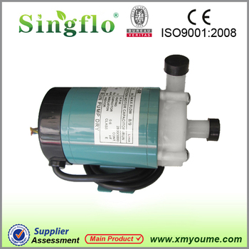 MP-20R magnetic drive pump in chemical industry/ food