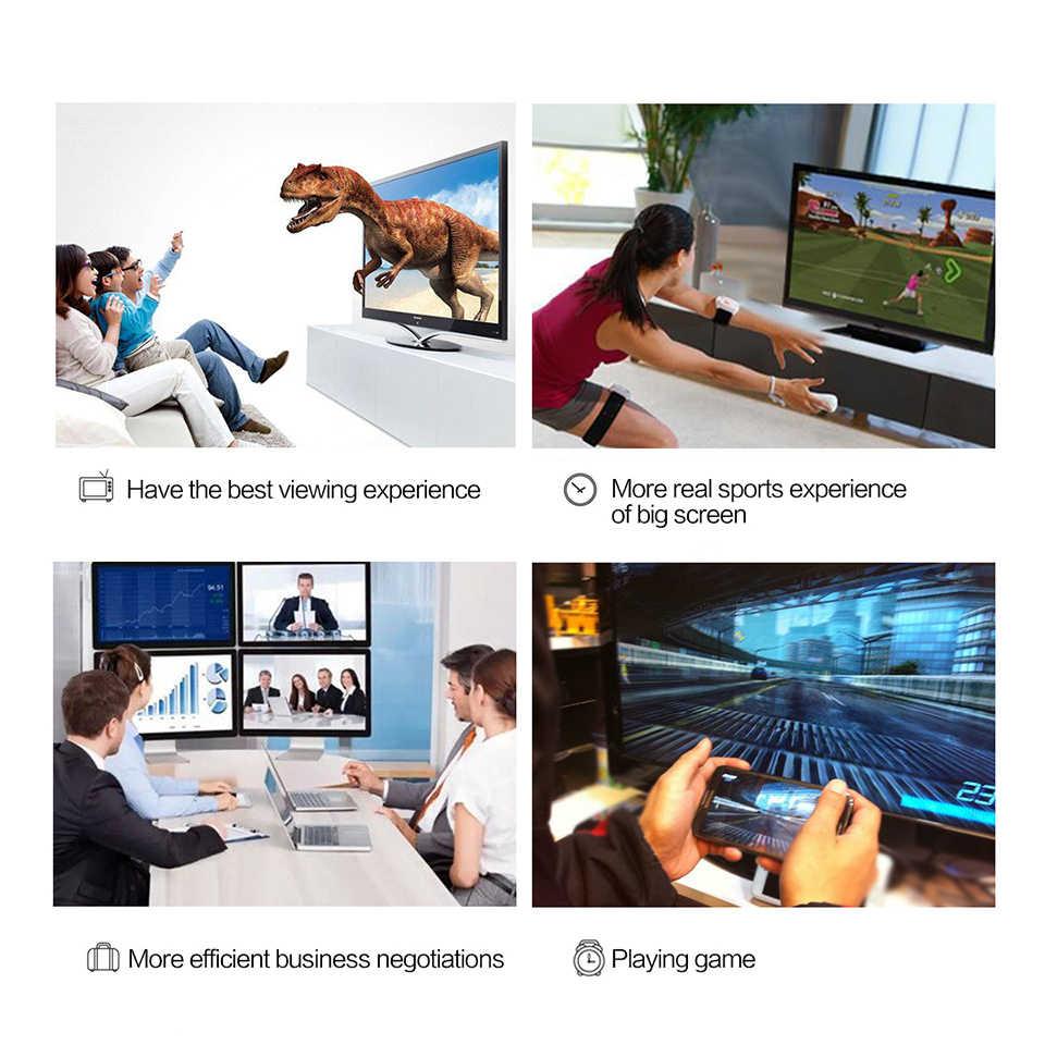 QGeeM USB Type C 3.1 to Mini DisplayPort Cable DP 4K 60HZ HDTV Converter Adapter for Macbook HuaWei Mate 10 Sansung S8