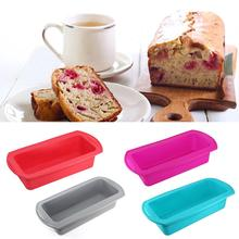Rectangular Silicone Cake Mold Toast Candy Mold Baking Tool Easy To Clean Pressure Resistant And Non-deformable цена