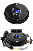 A335 Intelligent Robot Vacuum Cleaner From Home Schedule 2 Way Virtual Wall UV Lamp Auto Recharge