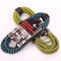 Electric guitar cable 3m 10f anti interference font b ukulele b font bass multicolor cord cable.jpg 200x200