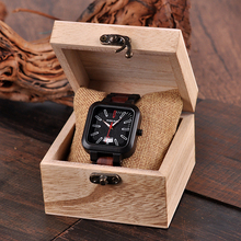 WSW Wood-Style Quartz Watches – Leather OR Wooden Band