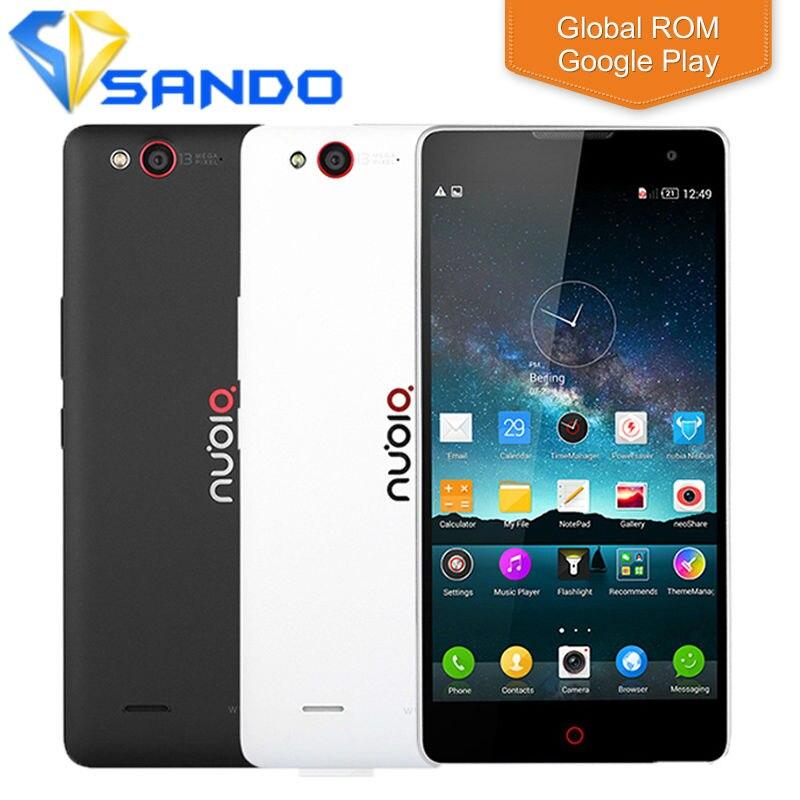 Цена за Оригинал zte nubia z7 max snapdragon 801 четырехъядерных процессоров 4 г fdd lte 2 ГБ RAM 32 ROM Android 5.1 13MP 1920x1080 P Dual SIM Телефон Z9 Z11