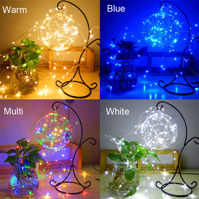 10m 100 Waterproof Usb Garland Gerlyanda Led Copper Wire Light String Outdoor Christmas Lights New Year Party Lights Decoration