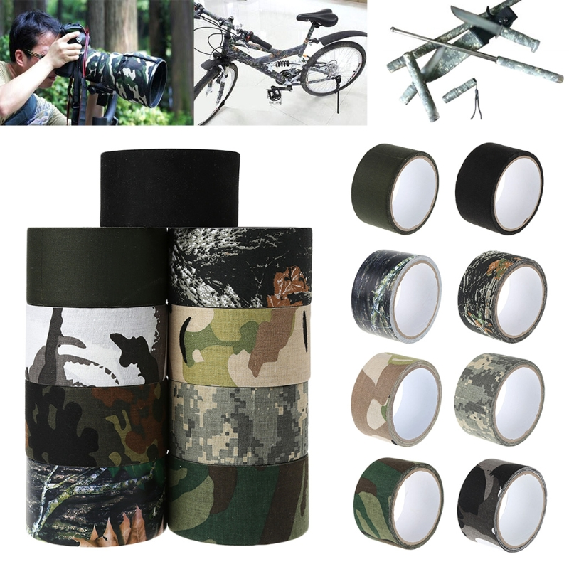 5CMx5M Bionic Camouflage Wrap Outdoor Hunting Shooting