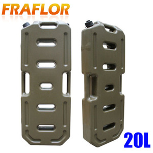 Image 2 - 20L Litre Petrol Jerry Cans Plastic Motorcycle Gasoline Fuel Tank Mount Lock 5 Gallon Gas Can Petrol Jerrycan Jerrican Container