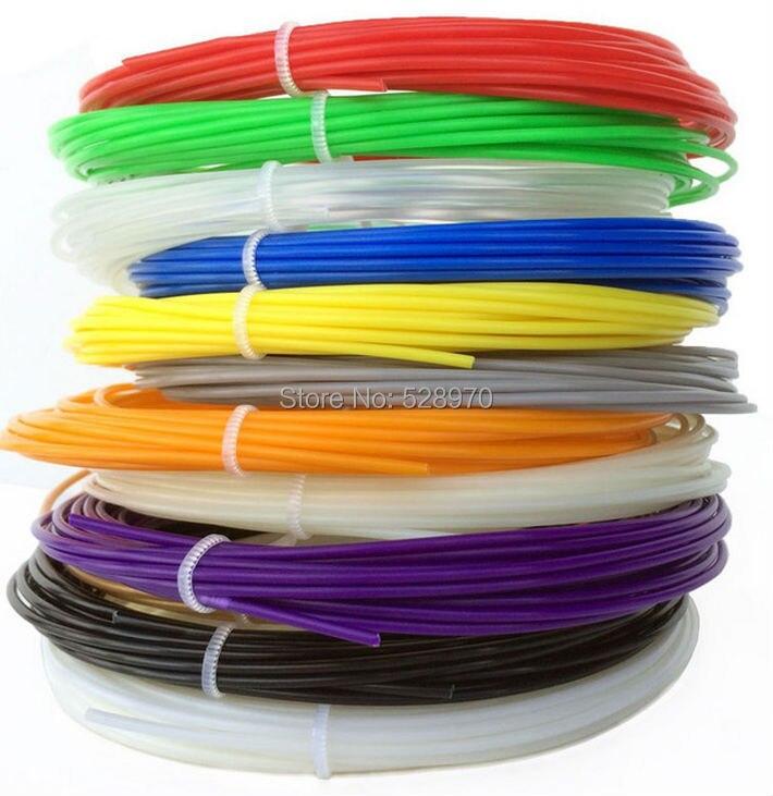 Filamento Impresora 3D 20 colores 200 m plástico PLA filamento 1.75mm para 3d pl