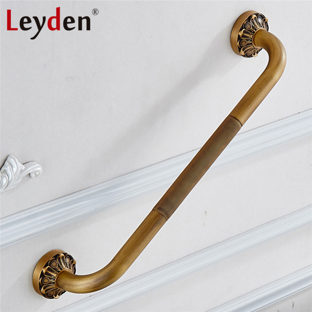 Leyden Copper Bathroom Grab Bar Toilet Handrails Wall Mounted ...