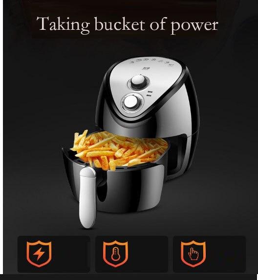 Intelligent Oil-less 3.8L Automatic Chip Fryer 1