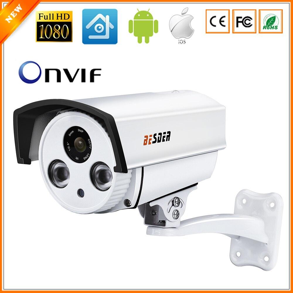 BESDER Auto Zoom 4X Motorized Lens 2.8mm-12mm CCTV Camera Full HD 1080P 2MP HI3516C SONY IMX322 ONVIF IP Camera DC 12V 48V PoE