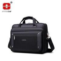 High Quality Business Handbags Men Brand Commercial Briefcase Bag Large Capacity Laptop Notebook Bag Male Shoulder