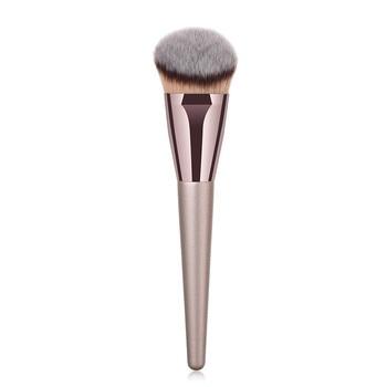 1 PC Flat Top Round Brush Wooden Makeup Brushes Professional High Quality Powder Cosmetics Blush Foundation Brush Makeup Tools