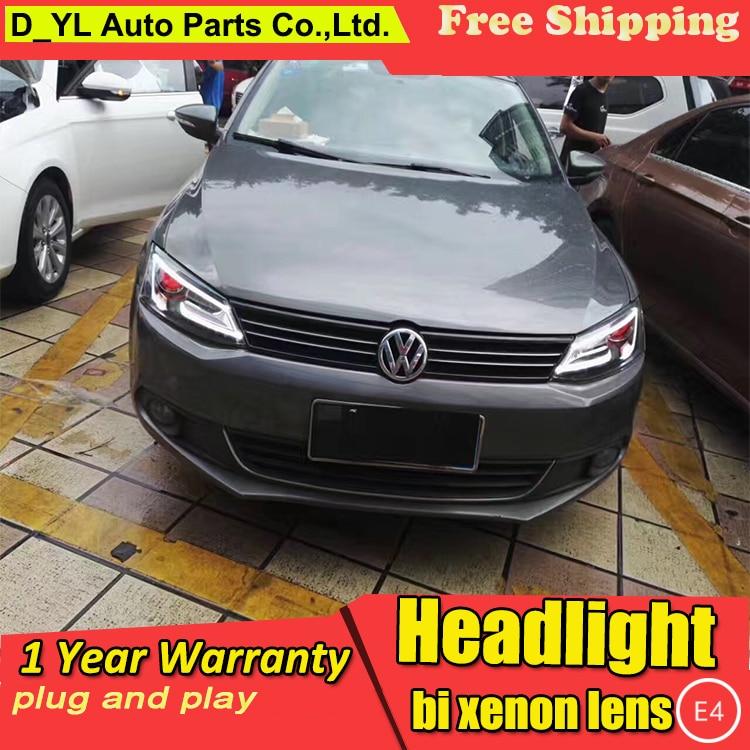 Car Styling Headlights For Vw Jetta 2017 Led Headlight Head Lamp Jett Daytime Running Light Drl Bi Xenon Hid In Embly From