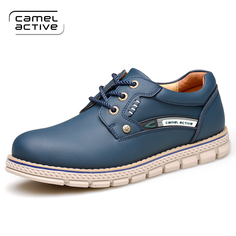 Camel Active High Quality Mens Outdoor Shoes Genuine Leather Casual Shoes Lace Up Travel Platform Shoes Breathable Atislip Flats pro biker multifunction riding travel luggage moto racing tool tail bags motorcycle saddle bag motorbike side bags saddlebags