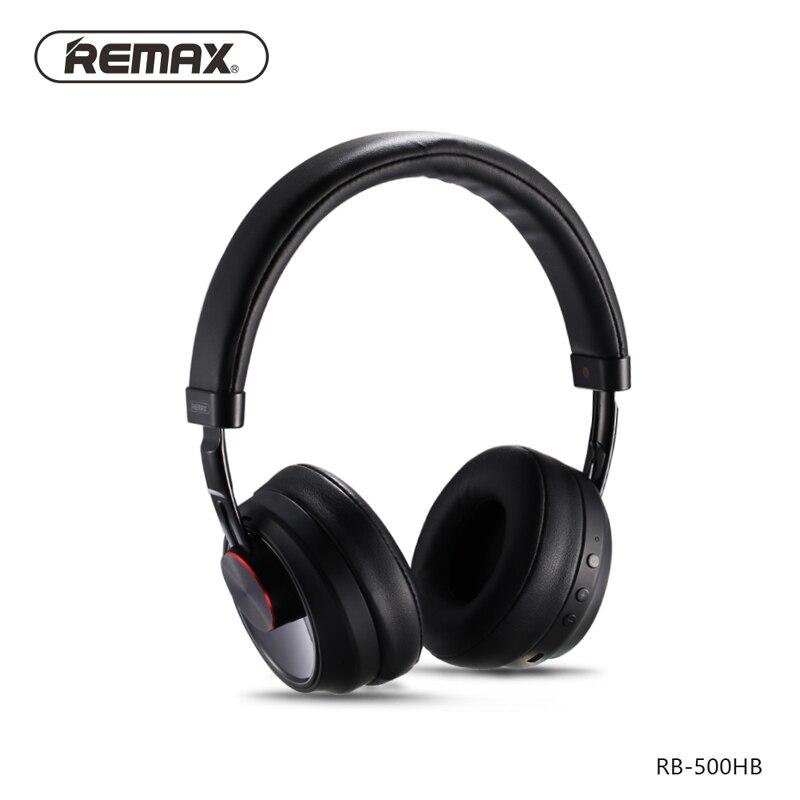 Remax RB-500HB Stereo Headband Música Fone de Ouvido Bluetooth Fone De Ouvido Sem Fio bluetooth Fone de Ouvido Controle de Toque HD Microfone De Som