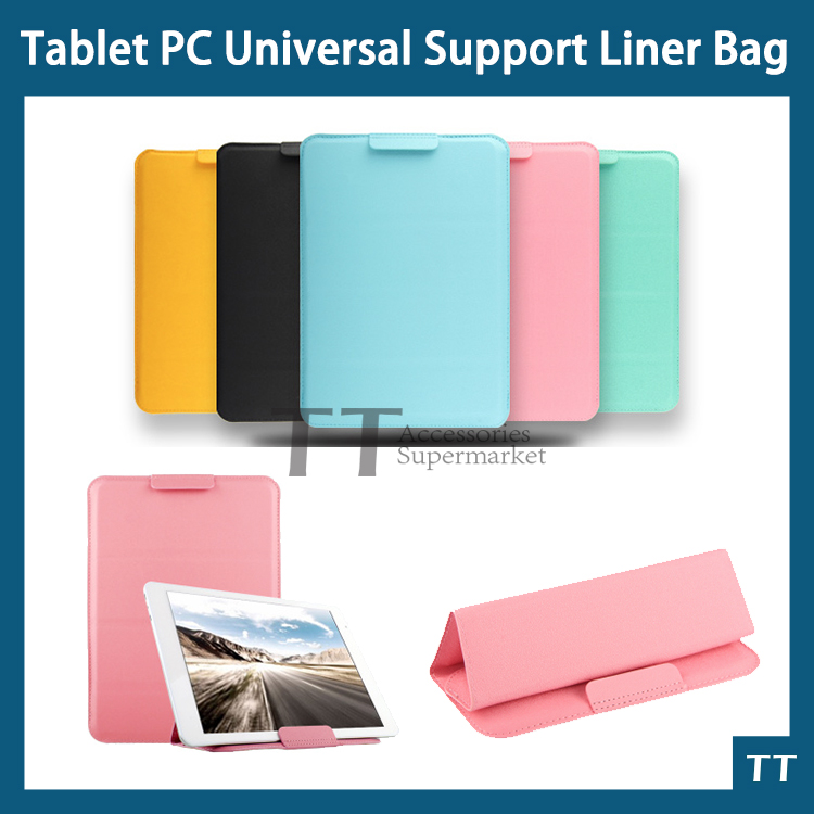 Ultra-thin PU Leather Case for Teclast TBook10 10.1Tablet PC bracket Universal Support Liner Bag + free 3 gifts universal 61 key bluetooth keyboard w pu leather case for 7 8 tablet pc black