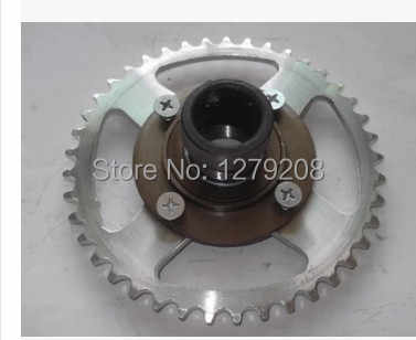 free shipping  tricycle  41T  420    chain wheel and non-gear flywheel