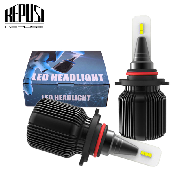kepusi mini 9005 hb3 h11 h8 h7 h4 hi/lo 9006 hb4 car led headlight