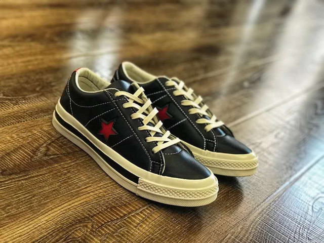 b65c258eb77e Converse All Star CDG X Chuck Taylor 1970s HiOX 18SS Skateboarding Shoes  Sport Black Authentic For Men And Women Unisex